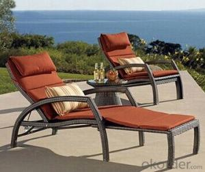 Garden Use Relax Rattan Chair/Recliner