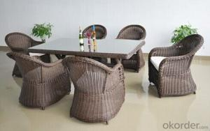 Synthetic Wicker Dining Set