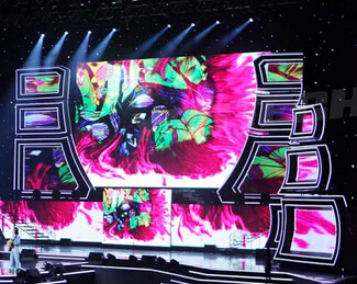 LED Curtain Display Screen Wall Panels CMAX-P20