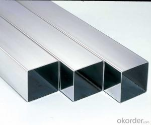 Bright Square Stainless Steel Tube A304 Made in China