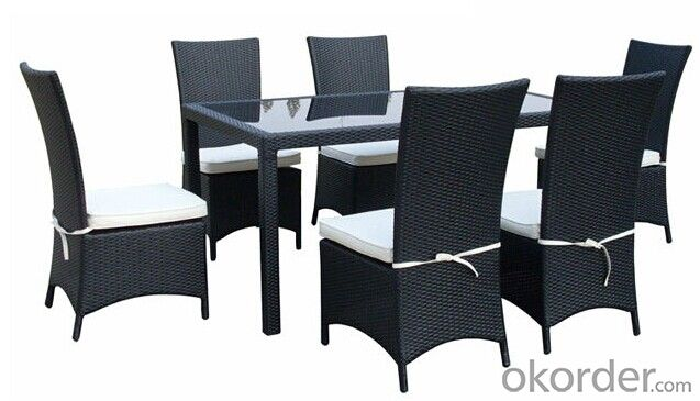 Outdoor Rattan Dinner Set