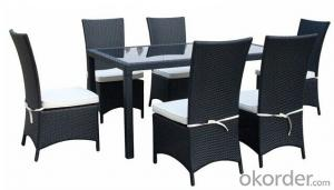 Patio Rattan Dinner Set