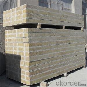 Easy install Fireproof Fiber cement composite wall panel
