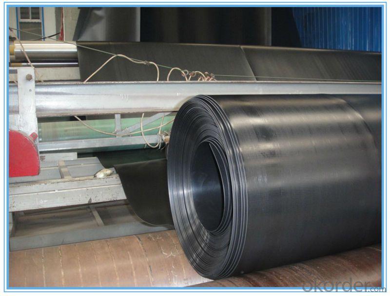 CJ / T234-2006 2.0mm glossy Green HDPE Geomembrane