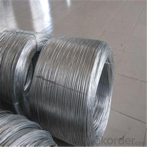 Commercially Galvanized Steel Wire
