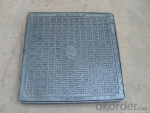 Manhole Cover Ductile Iron / Cast Iron Made in China