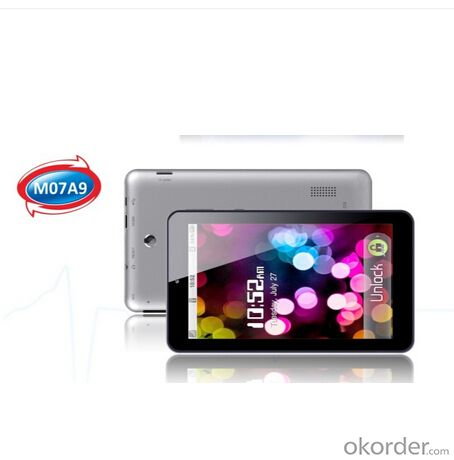 Quad Core Android Tablet PC 7inch 3G and Wifi