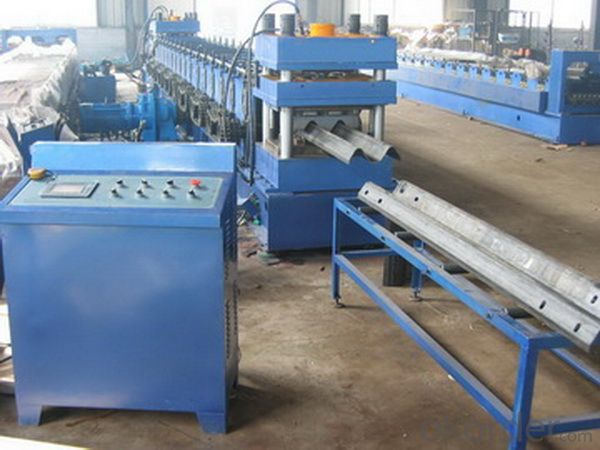 SINGLE WAVE BEAM GUARDRAIL UNIT