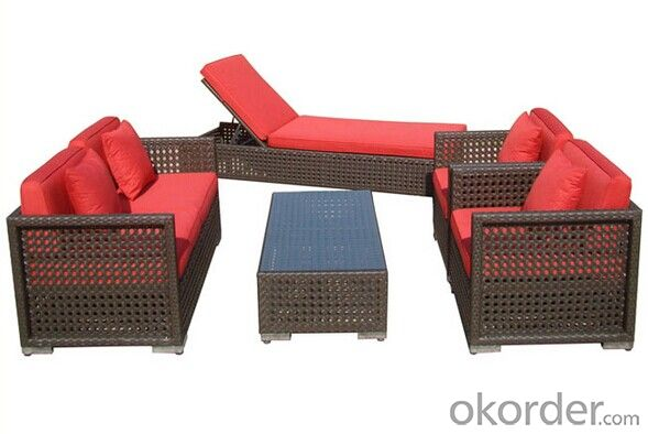 Rattan Sofa Set Outdoor Application