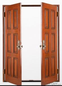 Panel Residential Steel Door Security Steel Door