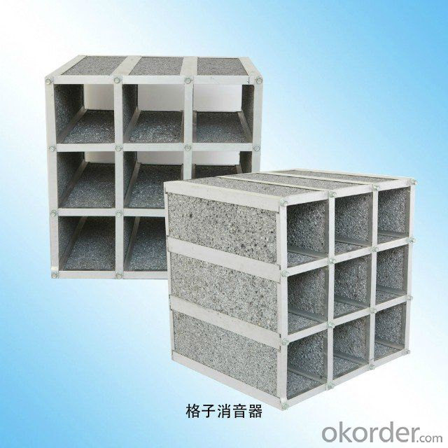 Aluminum Foam for Lattice Silencer