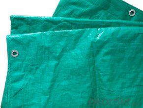 Strong tensile pe laminated tarpaulin