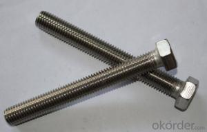Hexagon Head bolts- Full Thread DIN558