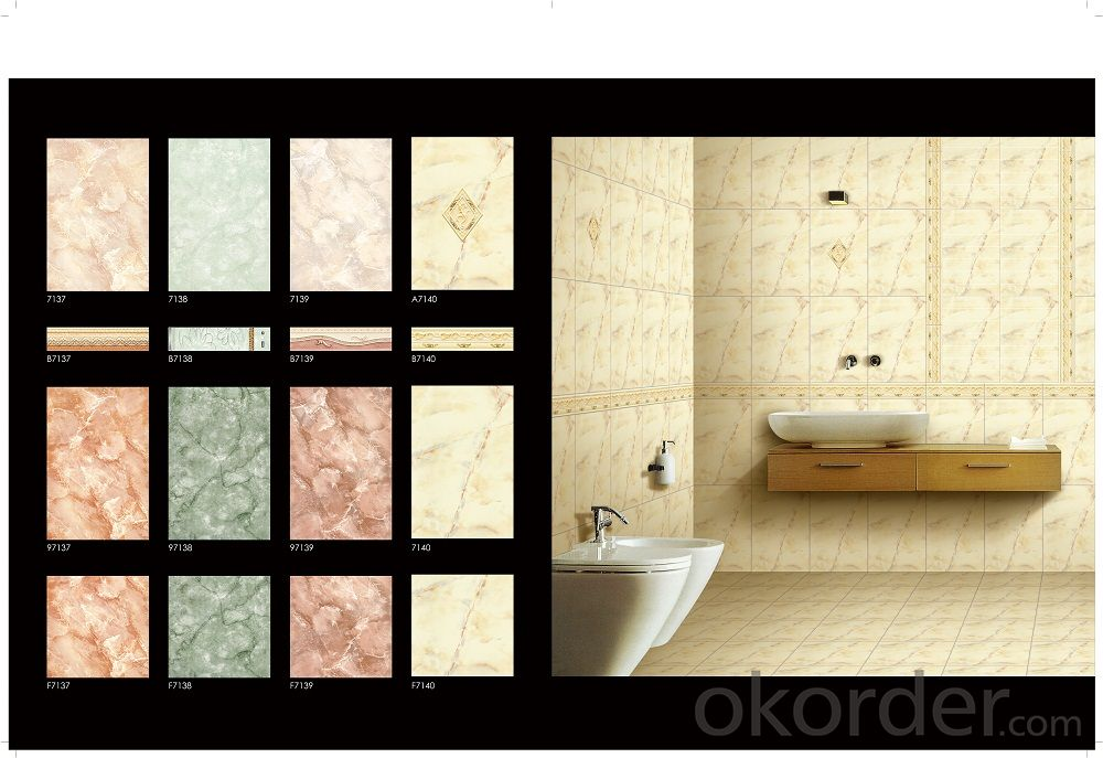 Bathroom and Kitcken Ceramic Wall Tiles
