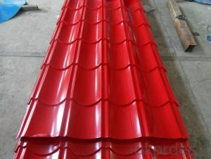 Prepainted gavanized steel sheet
