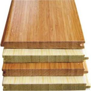 Carbonized Horizontal Solid Bamboo Flooring UV Coating Click System