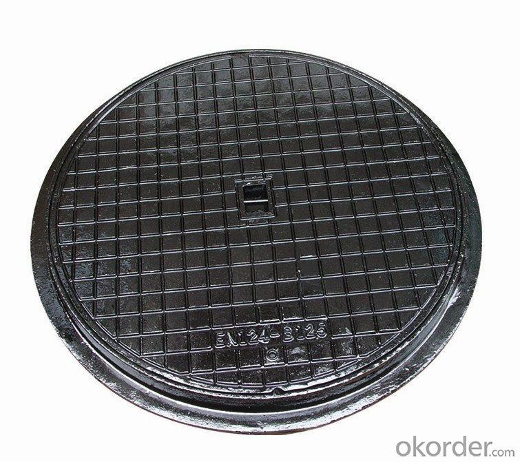 Ductile iron manhole cover C250  Square