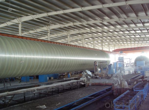 Filament Winding FRP Process Pipe
