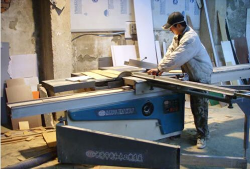 mdf pvc cutting machine