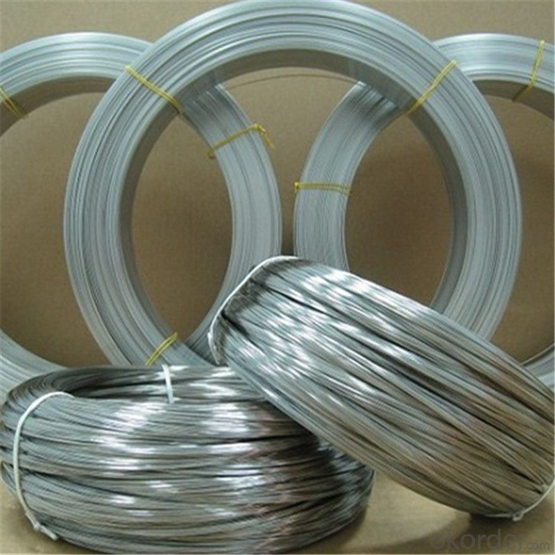 Galvanized  Iron Wire For Chain Link Fence