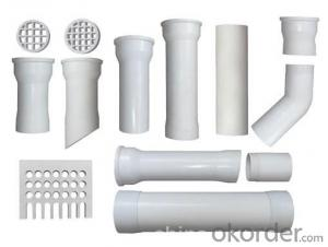 PVC Pressure Pipe grey, white Made in China