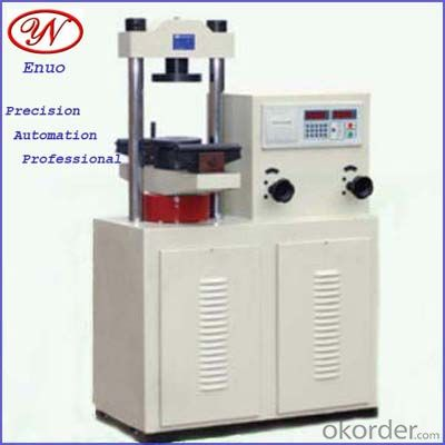 Electro-hydraulic compressive test instrument