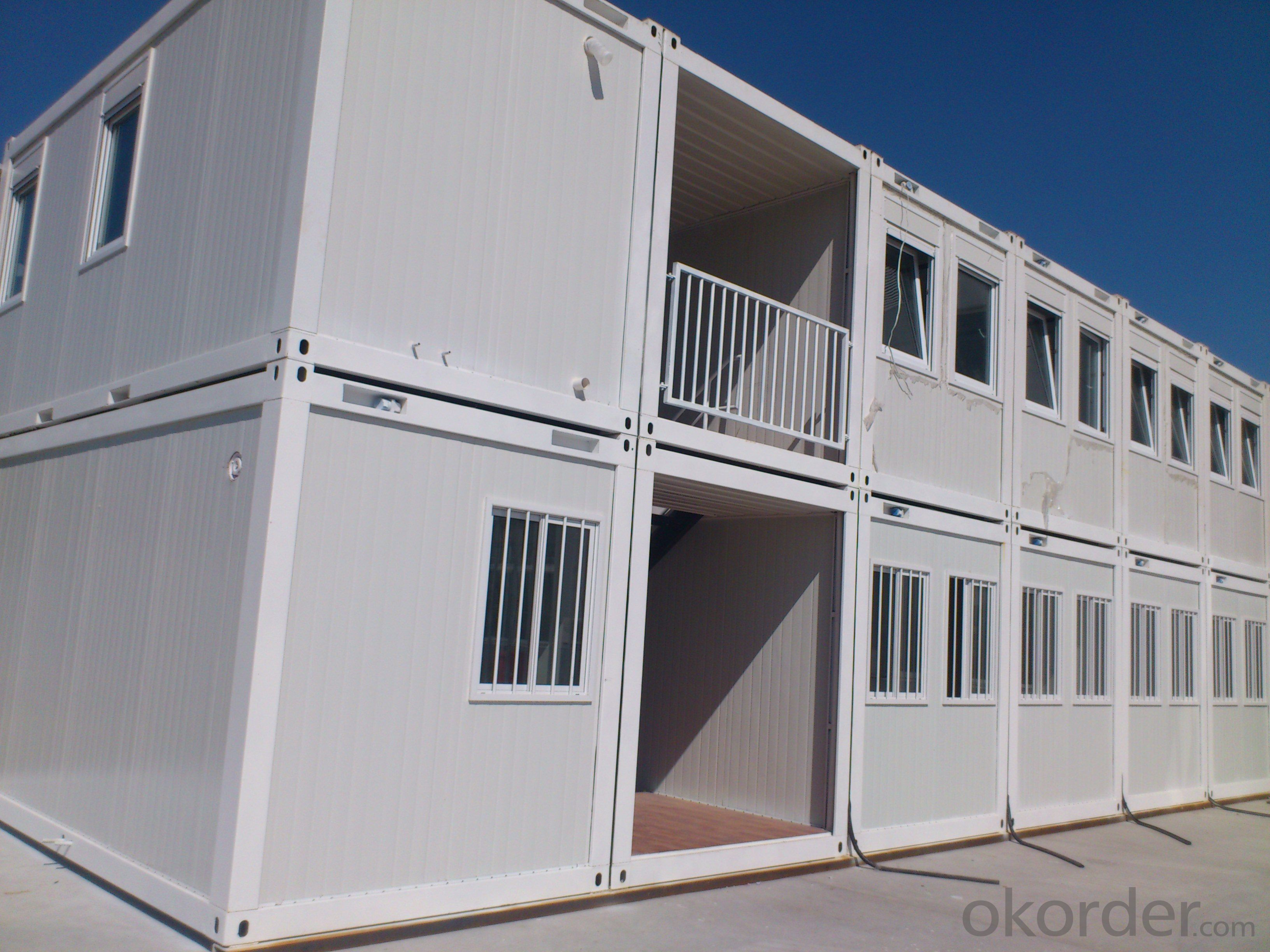 Cheap Price but High Quality Two Storey Prefabricated Container Mobile House