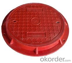 Manhole Cover  B125, C250, D400 Made in China