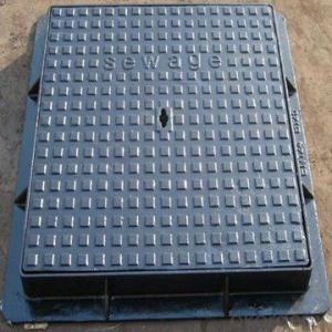 BS EN124 D400 C/O700 SMC Composite lockable manhole cover D400