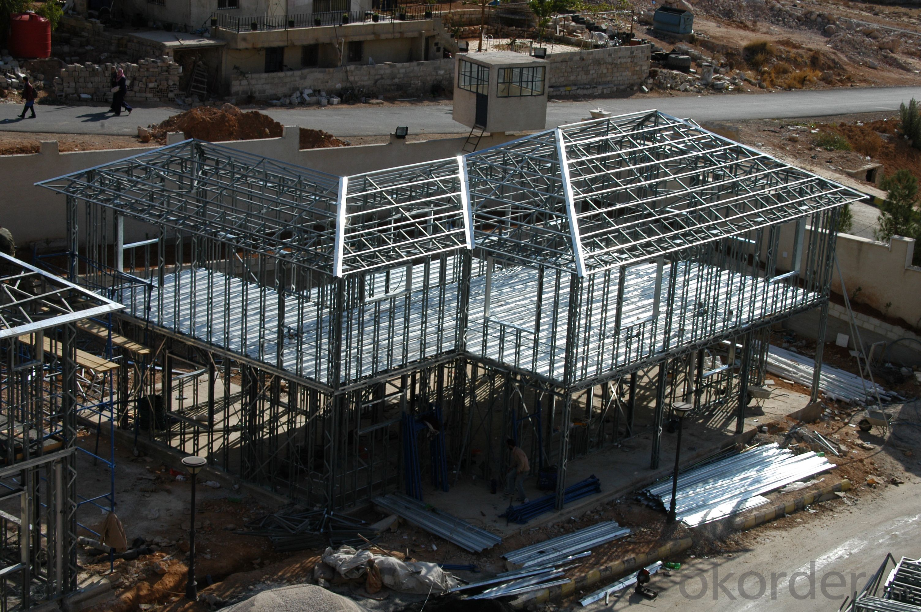 Quick Installation Light Steel Structure House
