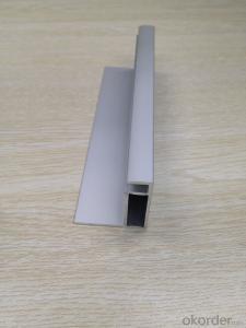Aluminum structure for solar module
