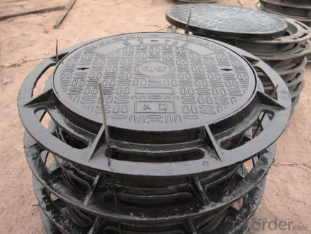 Manhole Cover for Vehicular and Pedestrian AreasD400