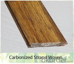 Woven Carbonized Bamboo Flooring High Quality Natural Design