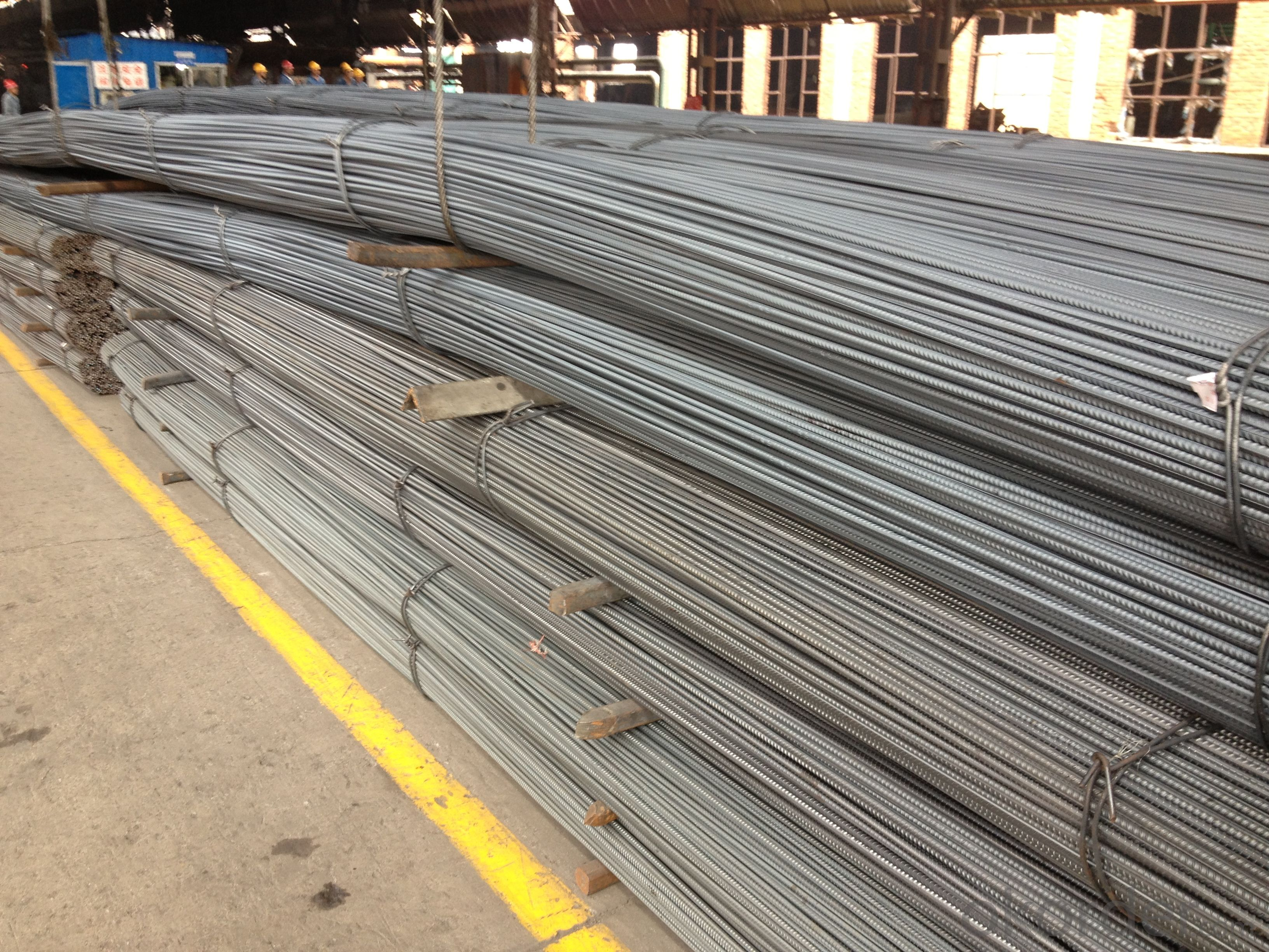Hot Rolled Deformed Steel Rebars for Constrution