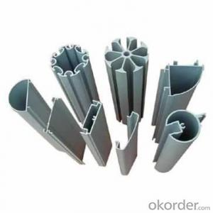 aluminum profiles with different surface