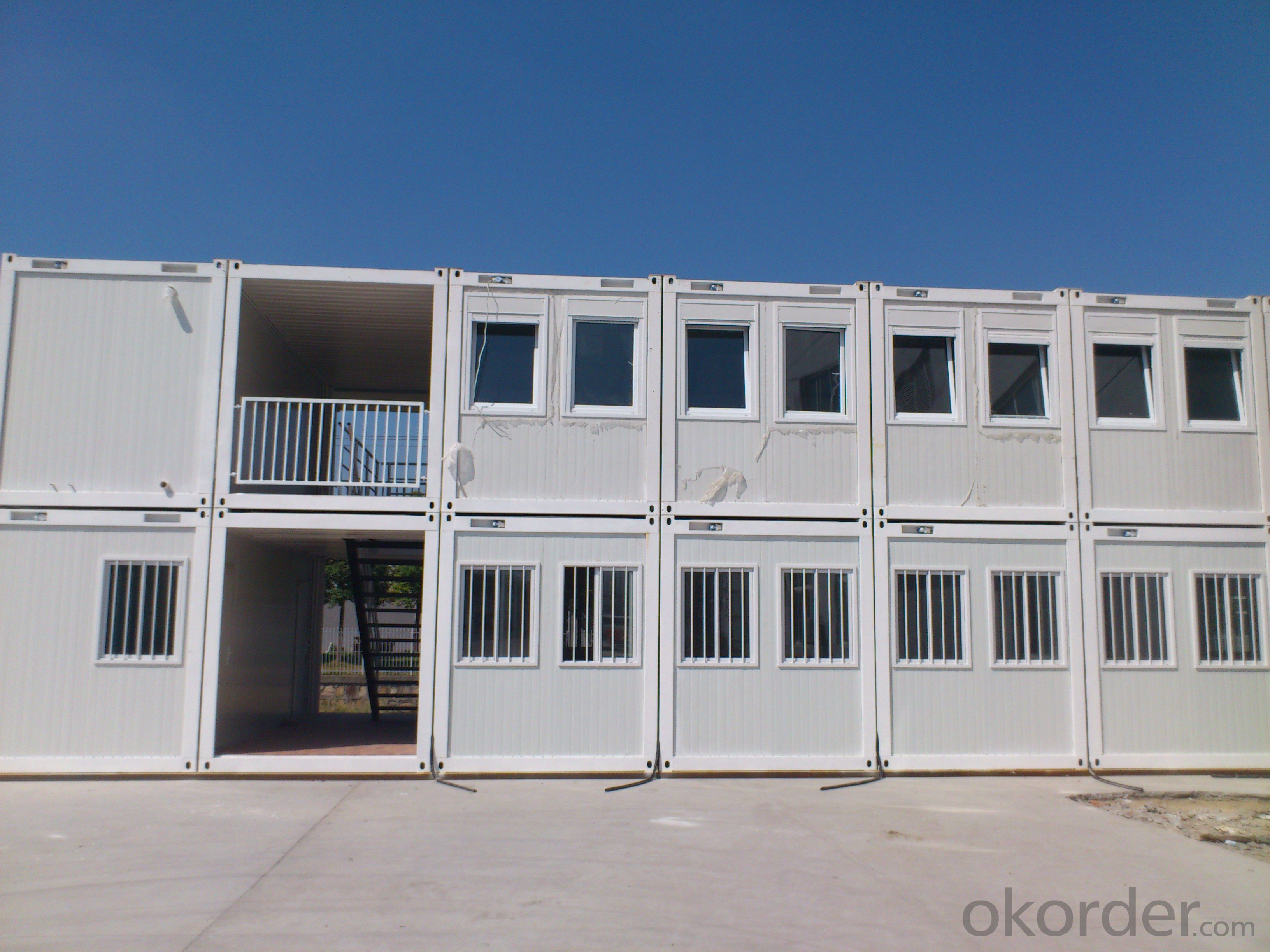 Multi-Storey Sandwich Panel Prefabricated Container Movable House