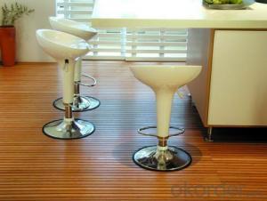Carbonized Horizontal Solid Bamboo Flooring UV Coating Click System