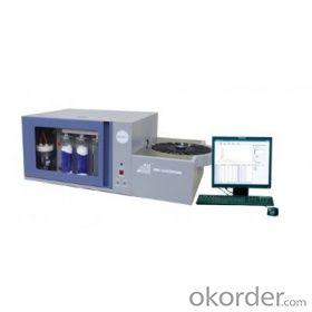 Automatic measuring sulfur analyzer