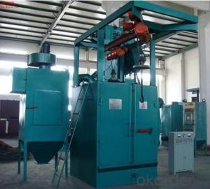 Hanger Chain Shot Blasting Peening Machine