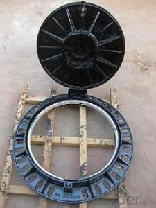 Manhole Cover Ductile Cast Iron Anti Theft EN124 E600