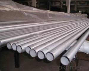 standard AISI 316L stainless steel pipes / tubes on stock