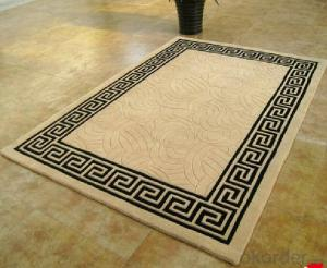 classic acrylic hand made carpet