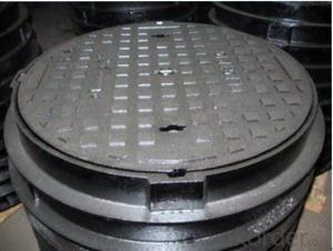 Ductile Iron Manhole Cover EN124 D400