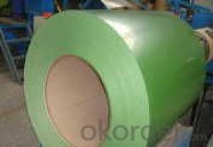 EXCELLENT COLOR COATED STEEL COIL GREEN