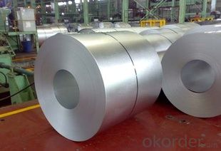 Gavalume steel coils