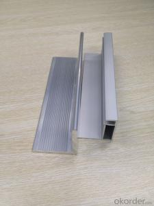 Aluminum structure for solar module