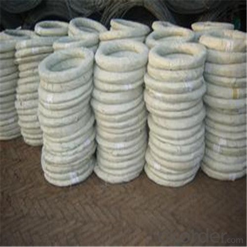 Hot Dipped Galvanized Iron Wires For Barbed Wire In Good Quality
