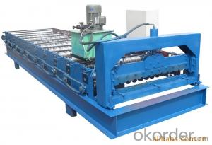 HOT Color Stone Coated Steel Roof Machine, Stone Coated Metal Eoof Tile Machine