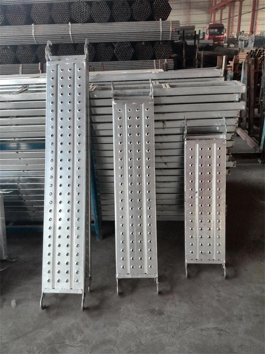 Pre-galvanized Mental Plank scaffoldings