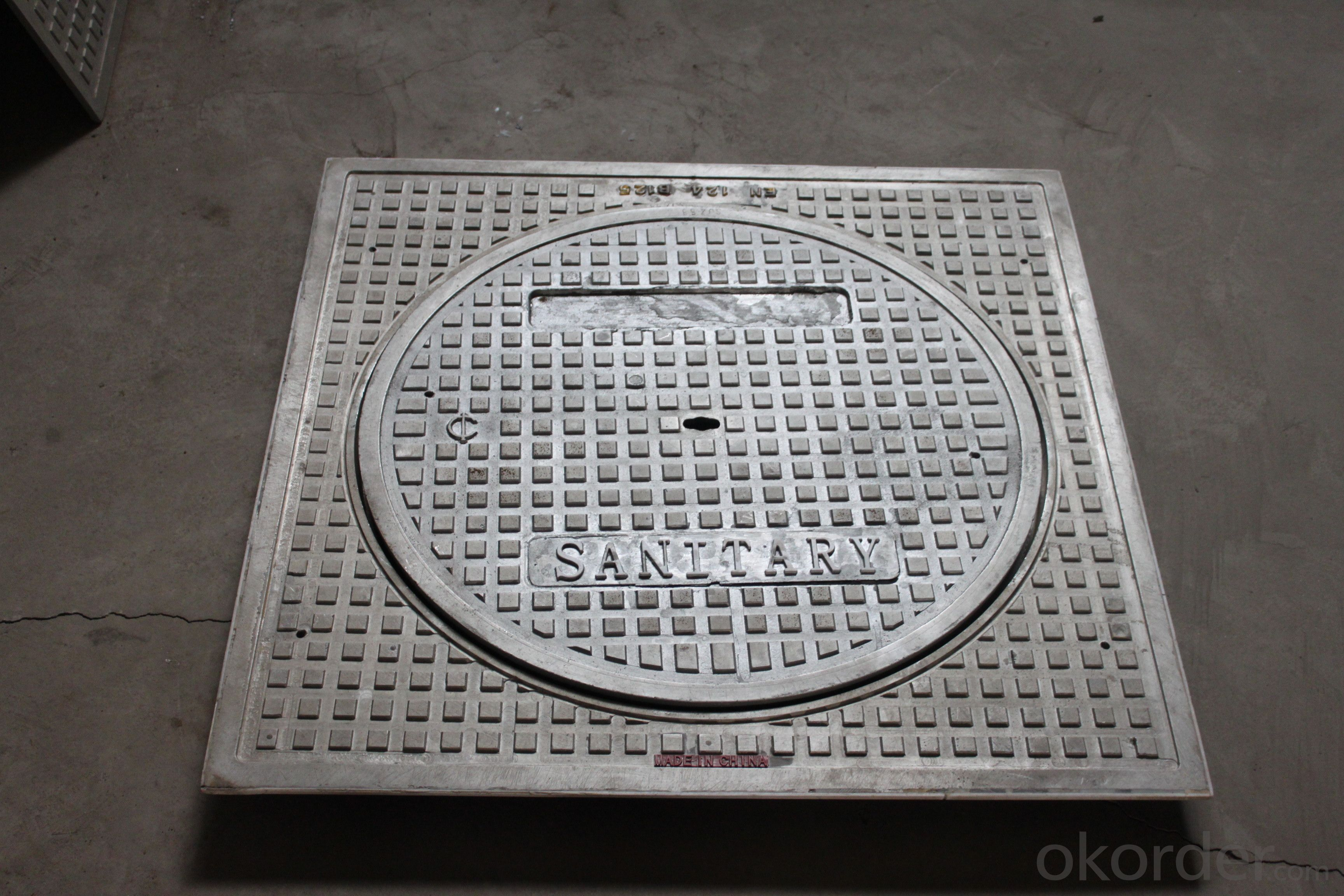 Manhole Covers EN124 Ductile Iron Square